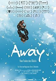 """Movie poster for """"AWAY"""""""