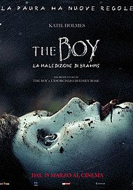 "Movie poster for ""THE BOY 2 - LA MALEDIZIONE DI BRAHMS"""