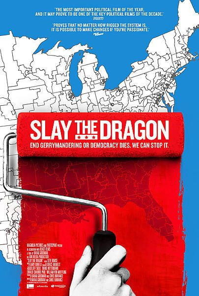 "Movie poster for ""SLAY THE DRAGON"""