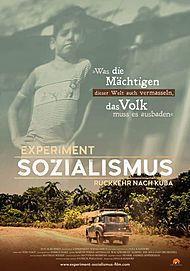 """Filmplakat für """"EXPERIMENT SOZIALISMUS - RÜCKKEHR NACH KUBA"""""""