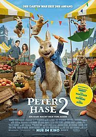 """Movie poster for """"PETER RABBIT 2: THE RUNAWAY"""""""