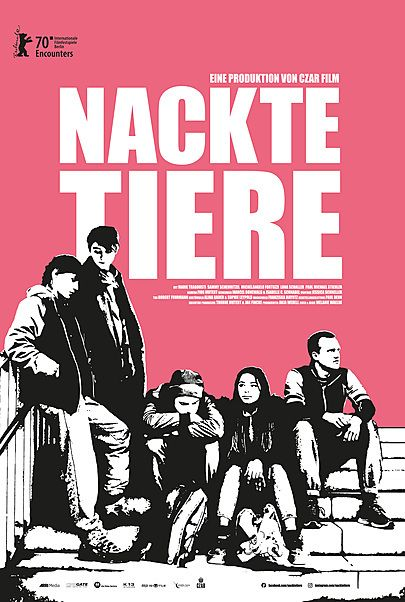 """Movie poster for """"NACKTE TIERE"""""""
