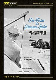 """Filmplakat für """"DIE FERIEN DES MONSIEUR HULOT"""""""