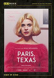 "Filmplakat für ""PARIS, TEXAS"""