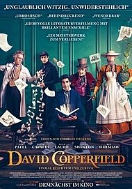 "Movie poster for ""THE PERSONAL HISTORY OF DAVID COPPERFIELD"""