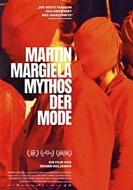 "Movie poster for ""MARTIN MARGIELA: IN HIS OWN WORDS"""
