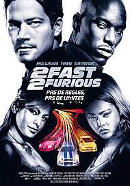 """Movie poster for """"2 FAST 2 FURIOUS"""""""