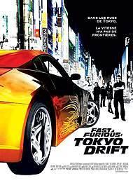 """Affiche du film """"FAST & FURIOUS: TOKYO DRIFT"""""""