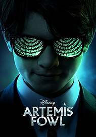 "Movie poster for ""ARTEMIS FOWL"""