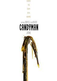 "Movie poster for ""CANDYMAN"""