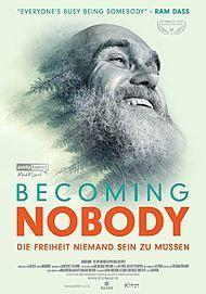 """Filmplakat für """"BECOMING NOBODY - DIE FREIHEIT NIEMAND SEIN ZU MÜSSEN"""""""