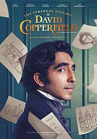 "Movie poster for ""LA VITA STRAORDINARIA DI DAVID COPPERFIELD"""