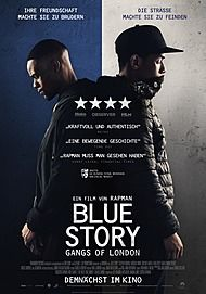 """Movie poster for """"BLUE STORY"""""""