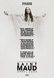 "Movie poster for ""SAINT MAUD"""