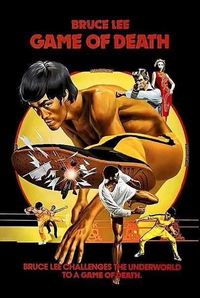 """Movie poster for """"GAME OF DEATH"""""""