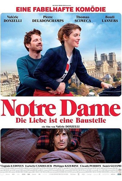 """Filmplakat für """"NOTRE DAME – DIE LIEBE IST EINE BAUSTELLE"""""""