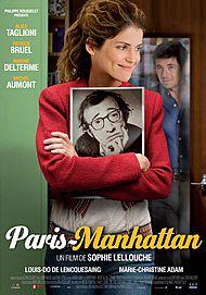 """Affiche du film """"PARIS MANHATTAN"""""""