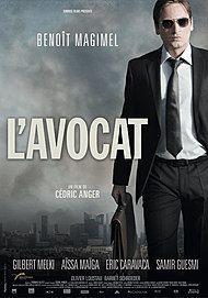 """Affiche du film """"L'AVOCAT"""""""