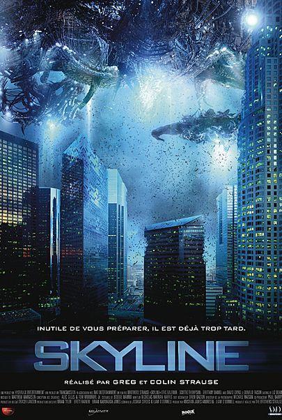 "Movie poster for ""SKYLINE"""