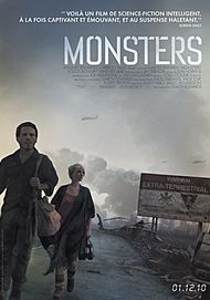 """Movie poster for """"MONSTERS"""""""