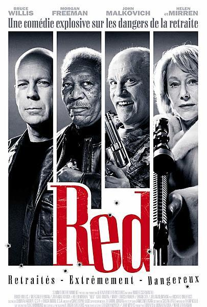 """Movie poster for """"RED"""""""