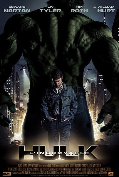"""Movie poster for """"THE INCREDIBLE HULK"""""""