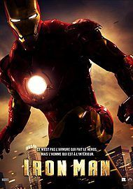 """Movie poster for """"IRON MAN"""""""