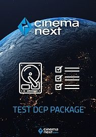 """Movie poster for """"CINEMANEXT TEST DCP PACKAGE"""""""