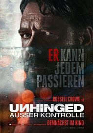 """Movie poster for """"UNHINGED"""""""