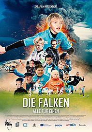 """Filmplakat für """"DIE FALKEN - ALLE FÜR EINEN"""""""