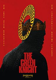 "Movie poster for ""THE GREEN KNIGHT"""