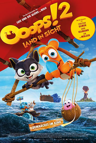"""Movie poster for """"OOOPS! THE ADVENTURE CONTINUES ..."""""""