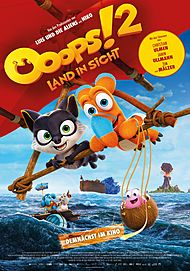 "Movie poster for ""OOOPS! THE ADVENTURE CONTINUES ..."""