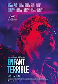 "Movie poster for ""ENFANT TERRIBLE"""