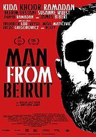 """Filmplakat für """"MAN FROM BEIRUT"""""""
