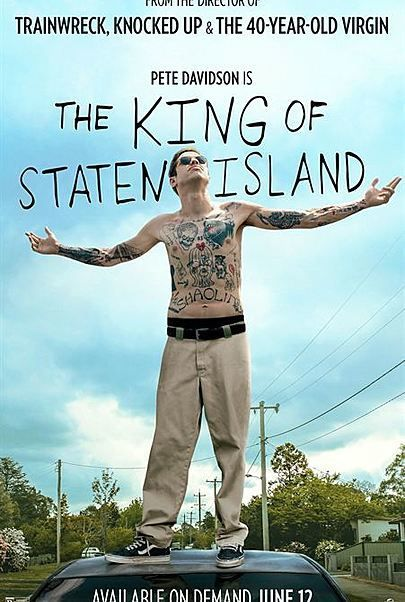 """Movie poster for """"KING OF STATEN ISLAND"""""""