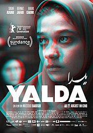"""Movie poster for """"YALDA - A NIGHT FOR FORGIVENESS"""""""