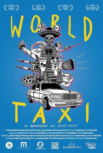 """Filmplakat für """"WORLD TAXI"""""""