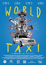 """Movie poster for """"WORLD TAXI"""""""