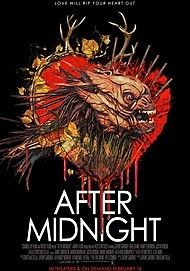 "Movie poster for ""AFTER MIDNIGHT"""