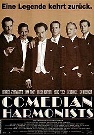 """Filmplakat für """"COMEDIAN HARMONISTS"""""""