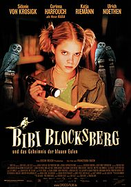 "Movie poster for ""BIBI BLOCKSBERG AND THE SECRET OF BLUE OWLS"""