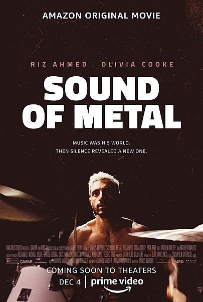 """Movie poster for """"SOUND OF METAL"""""""
