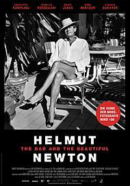 """Filmplakat für """"HELMUT NEWTON - THE BAD AND THE BEAUTIFUL"""""""