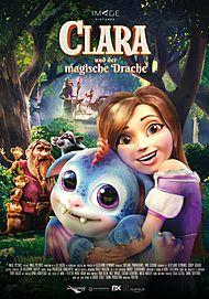 """Movie poster for """"CLARA UND DER MAGISCHE DRACHE """""""