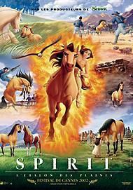 """Affiche du film """"SPIRIT L'ETALON DES PLAINES"""""""