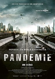 """Movie poster for """"Pandemie"""""""