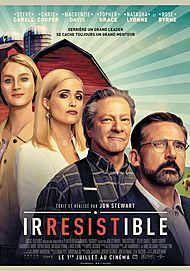 """Movie poster for """"IRRESISTIBLE"""""""