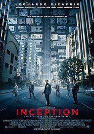 """Filmplakat für """"INCEPTION"""""""