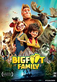 "Movie poster for ""BIG FOOT FAMILY"""